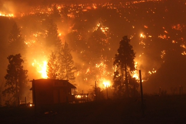 Image of the Carlton Complex Fire