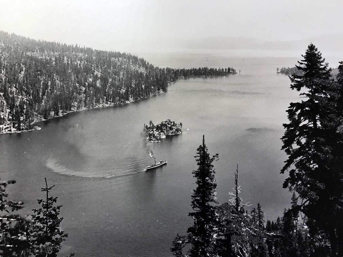 Emerald Bay, Lake Tahoe c 1900