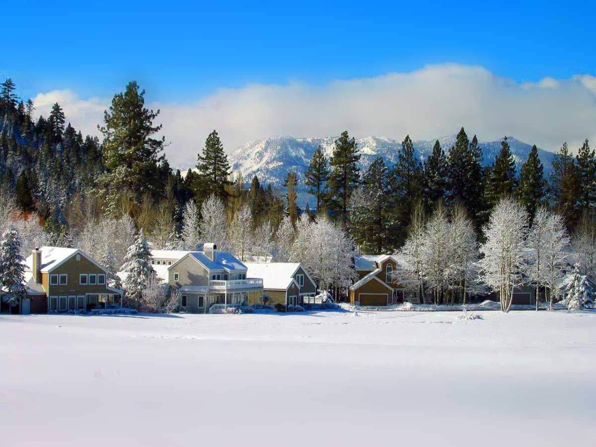 Glenbrook, NV in Winter