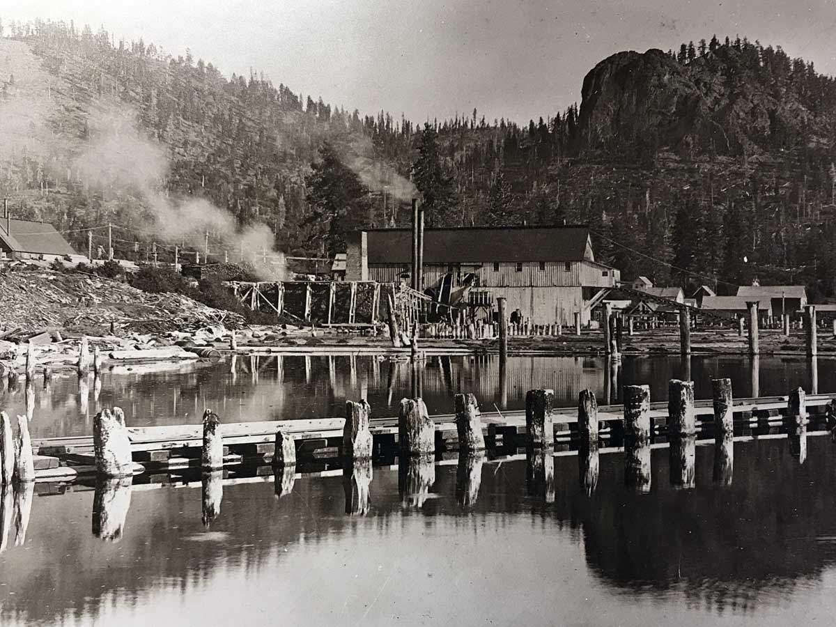 Lake Tahoe c1900