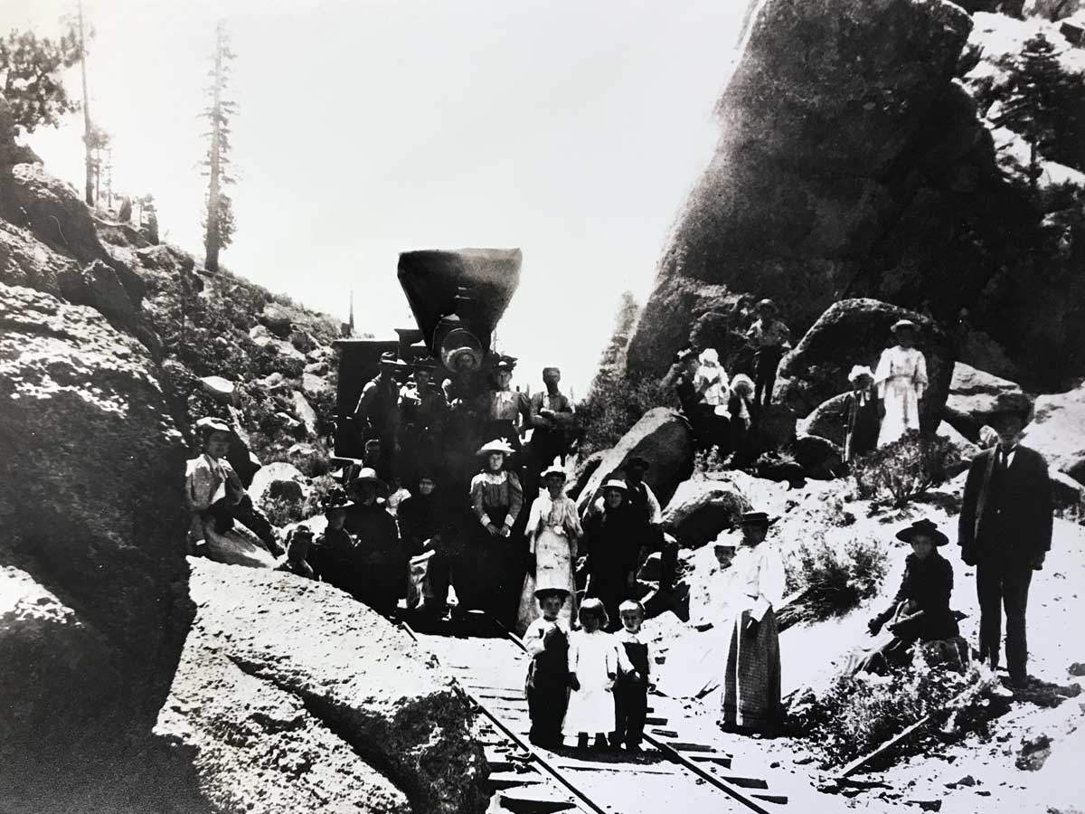 Spooner Summit 1882