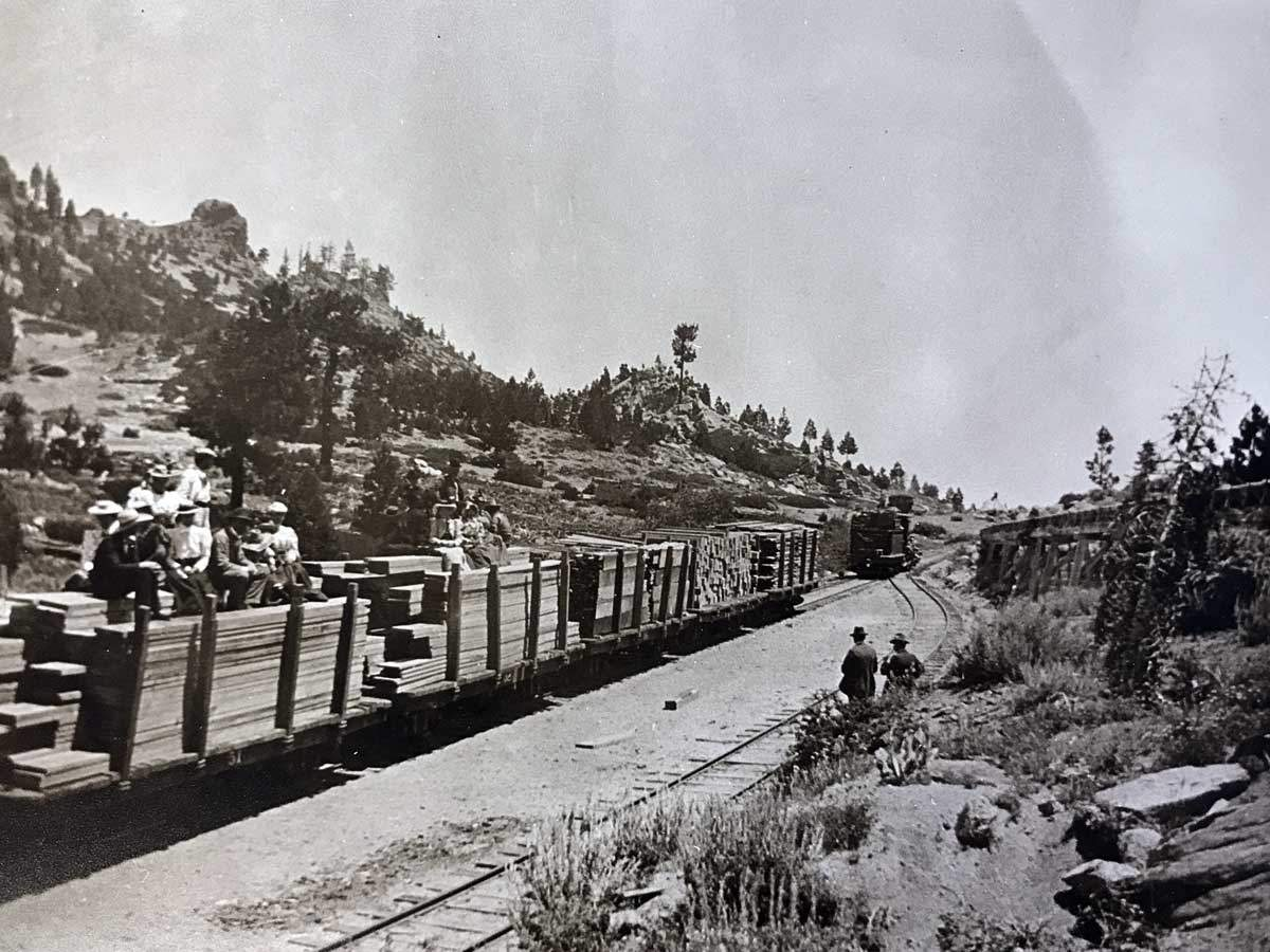 Tahoe Lumber Train