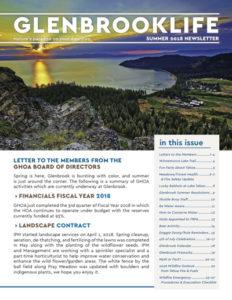 Glenbrook Life 2018 Summer Newsletter